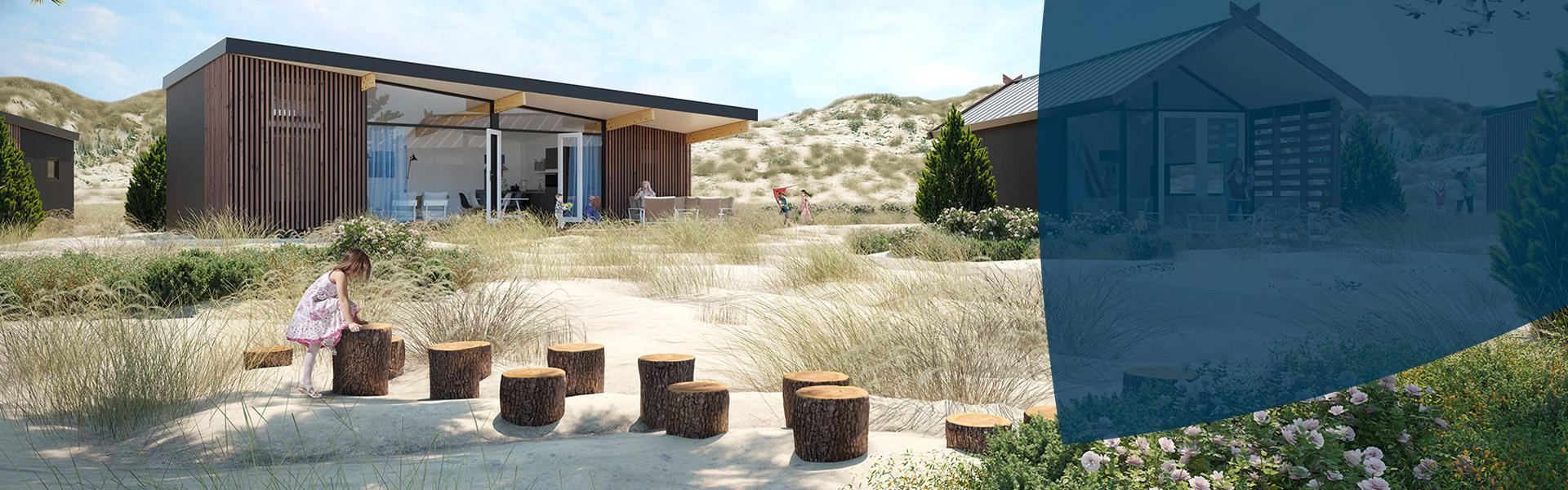 Fonds vakantiepark Bloemendaal aan Zee